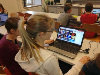 IT-BU-Unterricht in der 3D Klasse