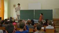 Klassenzimmertheater in der 3A