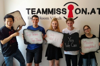 6B im Escape Room Villach